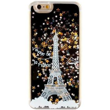 quicksand lace eiffel tower iphone 6 6s case cover gift  number 1