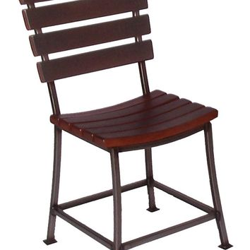 Wine Barrel Stave Back Dining Chair 2 Day Designs 4087D