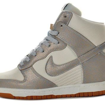 Nike Dunk Sky Hi Essential Inside Heighten woman Leisure High Help Board Shoes11