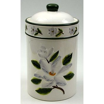 Magnolia Cookie Jar