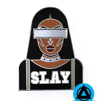 Shea Coulee - SLAY Cocky Pin