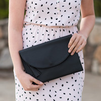 Bailey Crossbody Bag - Black