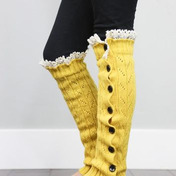 Girls Leg Warmers