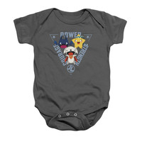 Justice League Power Courage Strength Infant Onesuit