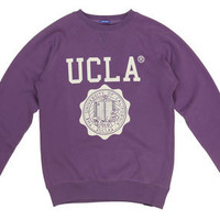 UCLA Sweatshirt - UCLA `Lauther` Sweater (Grape Compote)