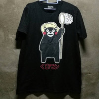 XMAS SALE black KUMAMON Funny Bear Medium Size