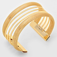 Many Colors Available! Mesh Cuff Bracelet