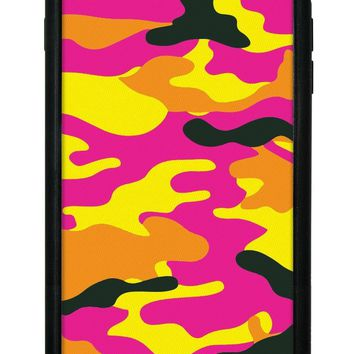 Neon Camo iPhone 6/7/8 Plus Case