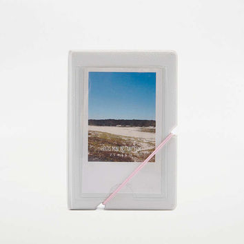 Pink & White Instax Mini Photo Album - Urban Outfitters
