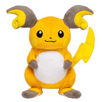 Pokemon Center Original Plush Doll : Raichu OA