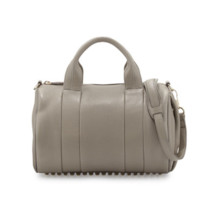 Alexander Wang: Rocco Stud-Bottom Satchel Bag