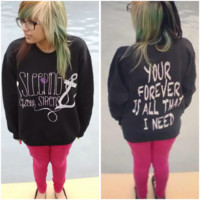 Sleeping With Sirens Anchor Crewnecks