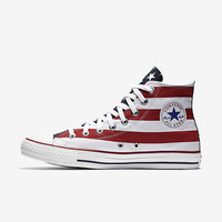 The Converse Chuck Taylor Americana High Top Unisex Shoe.