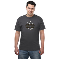 The Dice Are Trying to Kill Me T-Shirt - Charcoal,