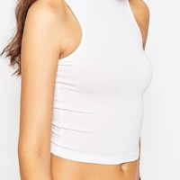TTYA High Neck Crop Top