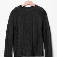 Gap Girls Cable Sweater