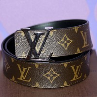 Louis Vuitton LV INITIALES 42mm 105cm MONOGRAM LOGO Canvas/Leather Box +Dust Bag