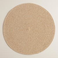 Round Braided Placemats Set of 4