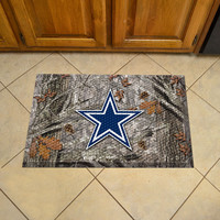 Dallas Cowboys Scraper Mat 19x30 - Camo