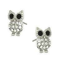 Owl Post Earrings - Endless Xpressions