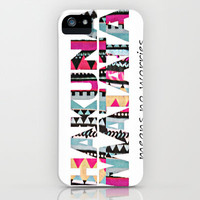 Hakuna Matata iPhone & iPod Case by Amy Copp