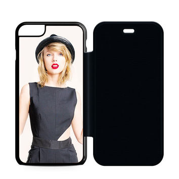 Taylor Swift Cover Album Red Lips Flip Case iPhone 6 | iPhone 6S | iPhone 6S Plus  Case