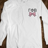 Gamma Phi Beta - Long Sleeve - Bow