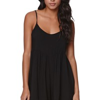 Volcom Simmer Down Romper - Womens Dress - Black