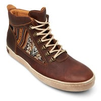 Inkkas Shoes Brown Leather Hiking Boot