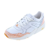 Puma Mens Snow Spatter Pack Leather Retro Casual Shoes