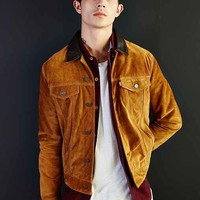 Levi's Suede Trucker Jacket- Honey