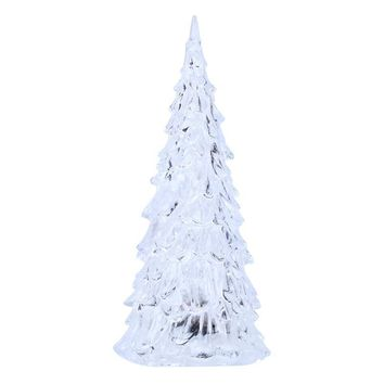 Crystal Acrylic Christmas Tree LED Night Light Lamp