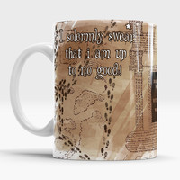 Isolemnly swear that i am up to no good, Harry Potter Unique coffee mug