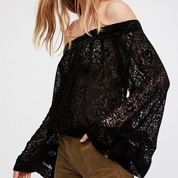 Ginger Berry Top - Black Combo by Free People