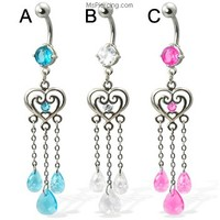 MsPiercing.com - Belly Rings, Nose jewelry, Nipple Rings, Body Jewelry