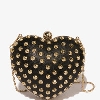 Spiked Heart Minaudiere