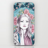 LILLY iPhone & iPod Skin by Gemma Hodgson Design