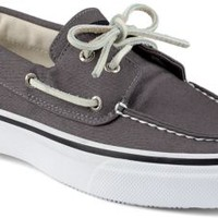 Sperry Top-Sider Bahama Varsity 2-Eye Boat Shoe Gray, Size 10M  Men's