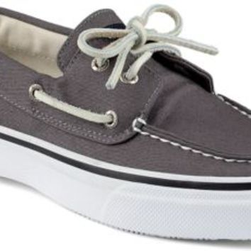 Sperry Top-Sider Bahama Varsity 2-Eye Boat Shoe Gray, Size 11M  Men's