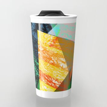 Rhythm in Green Travel Mug by SagaciousDesign
