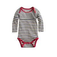 Baby one-piece in stripe - Men - J.Crew