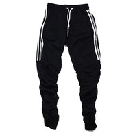Richie Stacked Pants (Black)