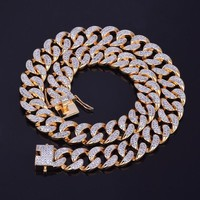 Diamond Cuban Link Chain