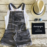 Camo Short Overalls by Z Supply