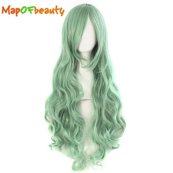 best green cosplay wig products on wanelo