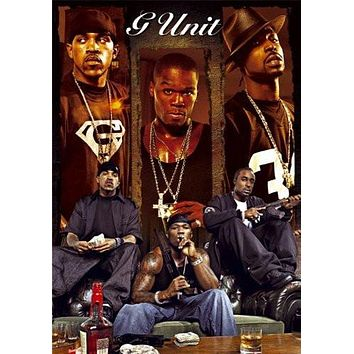 G UNIT POSTER 50 Cents RARE HOT NEW