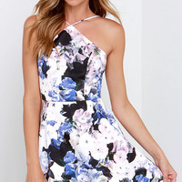 Keepsake Crossroads Floral Print Skater Dress