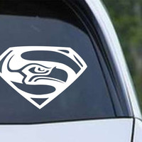 Seattle Super Seahawks 12th Man Die Cut Vinyl Decal Sticker