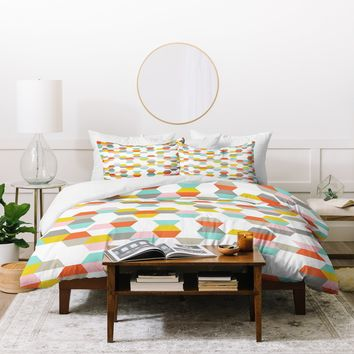 Heather Dutton Hex Code Duvet Cover