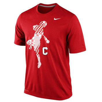 Nike Cornell Big Red Lax Legend Performance T-Shirt - Red